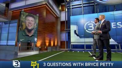 News video: 3 Questions with Bryce Petty